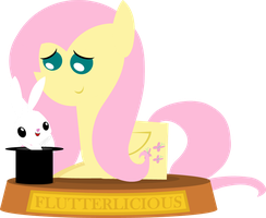 Flutterlicious Trophy by Zacatron94