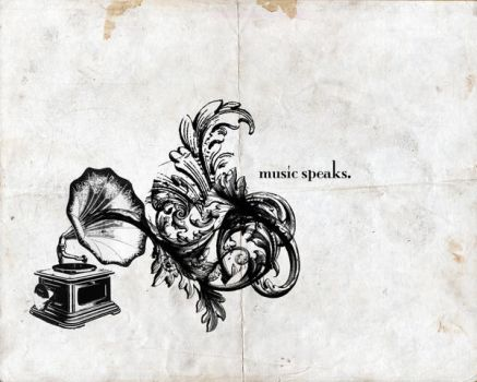 Music Speaks by itsyouforme