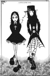 Gothic Walk With Spiders. by Gokiburogal
