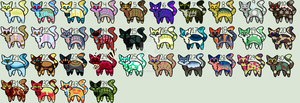 LEFTOVERS CAT ADOPTABLES (15/34 OPEN) by Adoptables-Quest