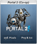 Portal 2 Coop - Icon by Crussong