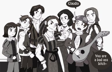 Claudia Auditore Rap by CrayonPuppy