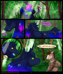 Tales of Aer - First Tale, Page 1 by TheMiles