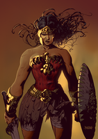 Wonder Woman by adagadegelo