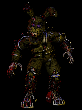 Stylized ScrapTrap Fullbody (trying to aliveness) by Morigandero