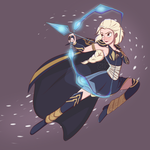 Elsa, the Frost Archer by Dreemers