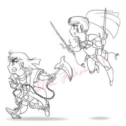 Chibi Warlords by Silver-Falcon