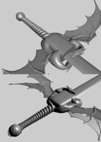 Nano-Sword WIP 2 by LordOfDragons