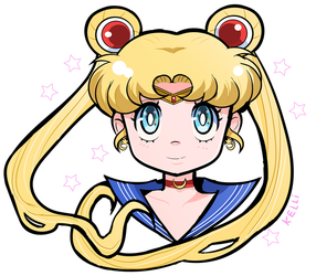 Sailor Moon by Kell0x
