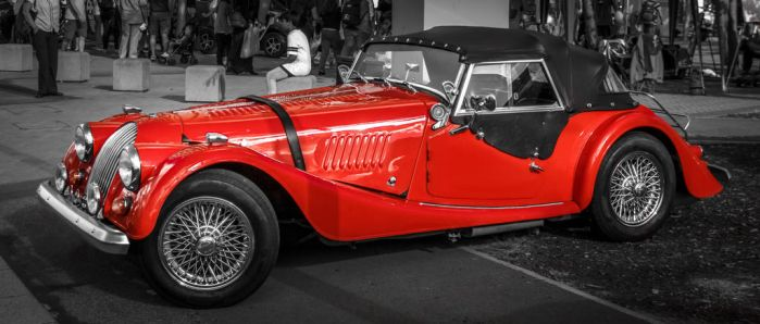 Red Classic Racing I by LostChemist