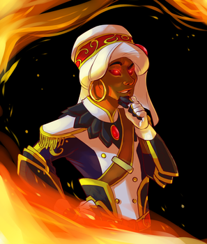 Wrathion by tarmie