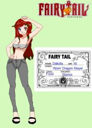 Dakota - Fairy Tail OC by nalugruviagale