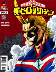 BnHA All Might cover by KaizokuShojo