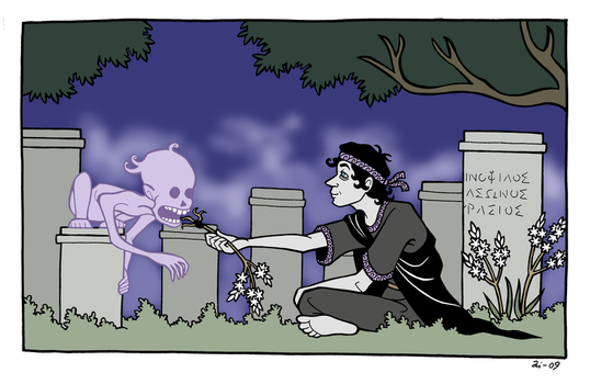 At the Cemetery by A-gnosis