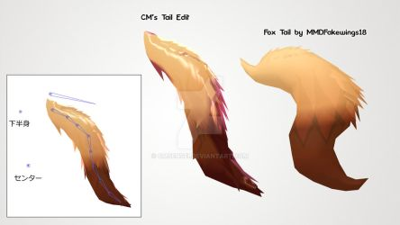Fox Tail Edit [WIP?] by CMSensei