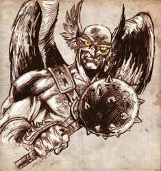 Hawkman - Sketch by dichiara