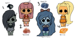 SU Gems: Auctions (CLOSED) by SweetieBatch