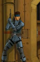 Solid Snake by ShinGallon