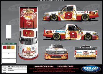 Andersons Maple Syrup Truck for 2015 by graphicwolf