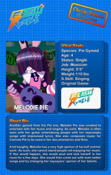 Flash Rumble - Melodie Pie Card Back by Chesty-Larue-Art