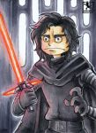 Kylo Ren - Star Wars - ATC by Merinid-DE