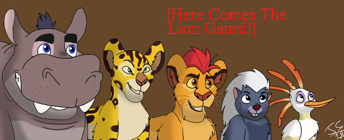 |Here Comes The Lion Gaurd!| by Genocide-Knight