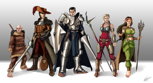 DnD Party Commission by NightmareGK13