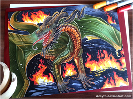 Fire can kill no Dragon - FOR SALE by Acayth