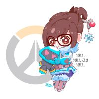Mei - Overwatch by Shirocreate