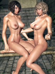 The Twins IV by Absoluth
