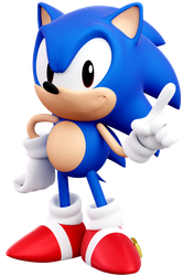 Classic Sonic(Generations) by ModernLixes