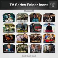 TV Series Folder Icons - PACK 01 by limav