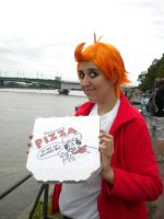 FUTURAMAcosplay-Panuccis Pizza by Eric--Cartman