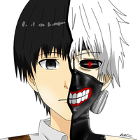 Kaneki Ken Colour by hells--gate