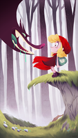 Red Riding Hood by gadeaster