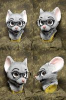 New Momo Mouse Head by temperance