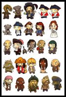 pirates of the caribbean by EatToast