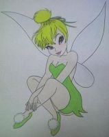 Tinkerbell for Jenny by Raphesia