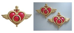 Sailor Moon brooches by green-fennec