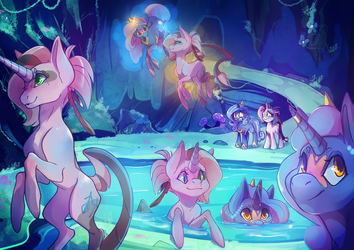 [Collab] Mirror Pool by Pon-ee