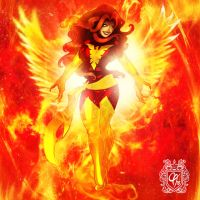 Dark Phoenix by Cahnartist