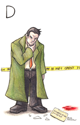 D - Dick Gumshoe by eightcrows