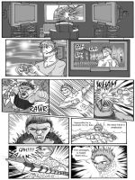 The End Issue 3 - 'Must Play' Page 1 Inks + Letter by thescarletspider