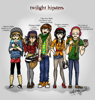 Twilight: Hipsters by Odie-Farber