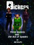 Dickess- 3 Queens by mdbruffy