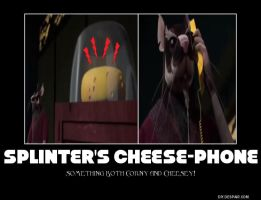 Splinter's Cheese-Phone by CCB-18