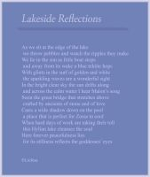 Lakeside Reflections by Liefesa