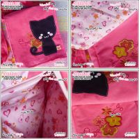Cat Bag - Pink Summer by shiricki