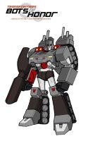 MEGATRON - ROBOT MODE by Bots-of-Honor