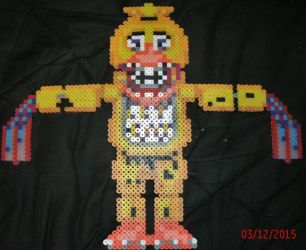 Withered Chica by Pumpkin-King-Zak